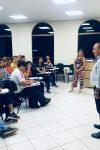 Dr. Aparício Carvalho visita novas turmas de Engenharias da Metropolitana