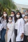 Visita dos alunos do Colégio Dinâmico de Ariquemes
